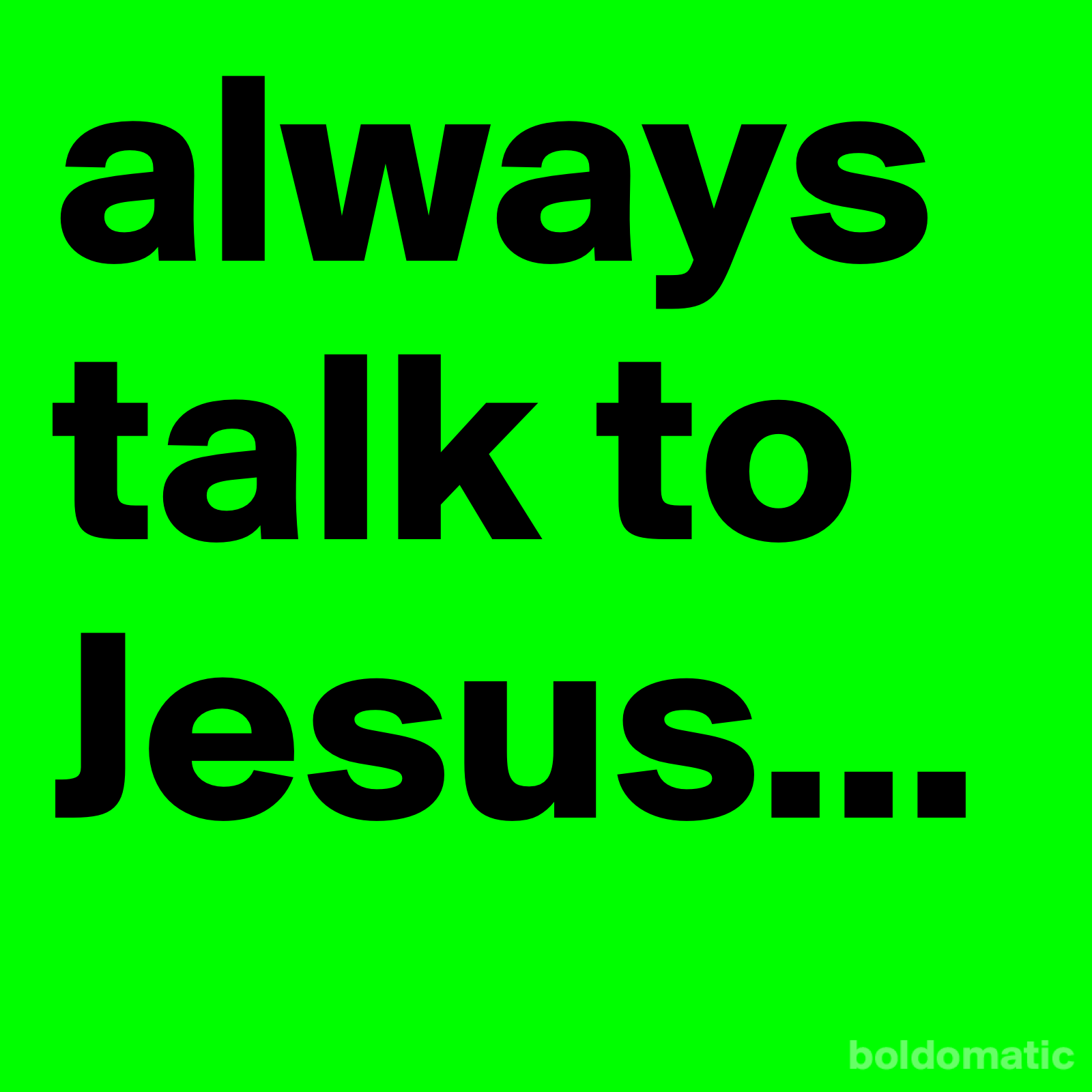 jesus Daily Quotes